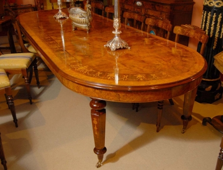 Dining Table 8 foot French Rustic Extending