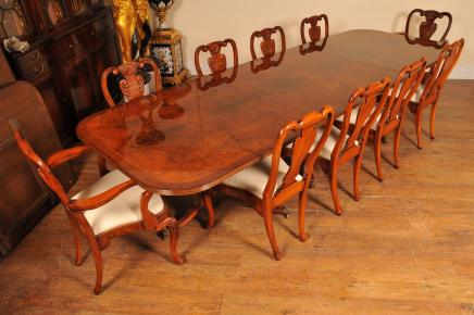 blonde walnut tub chair set 8 art deco dining chairs art deco dining table 8