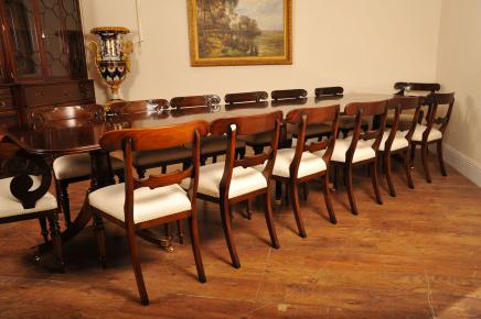 Dining Chairs Inlay Chair 1920s Furniture Set Art Deco